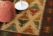 Southwestern Multi Handmade Jute Dhurrie rug