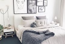 SCANDI BEDROOMS: CLEAN & SERENE / https://interiorsonline.com.au/blogs/inspiration/clean-and-serene-get-comfy-with-scandinavian-bedrooms