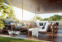 terrace / inspirace pro řešení terasy