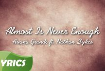 Ariana Grande   Almost Is Never Enough ft  Nathan