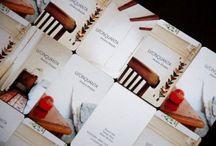 Papelerías corporativas y branding / Tarjetas, papel de cartas, sobres, carpetas y todo lo que hay alrededor de una marca, en papel o lo que sea