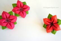 Art of PAPER Folding and Cutting..^___^ / Paper projects / Crafts with the use of Paper..
