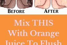 flush lungs.