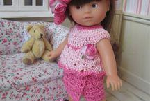 Poupées Mini Corolline / Mes créations au crochet pour les poupées Mini Corollines  : Patrons et tenues disponibles dans ma boutique