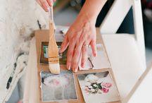 Encaustic beauty / Wax beauty, pretty paper