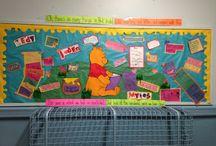 Bulletin board end of year PreK