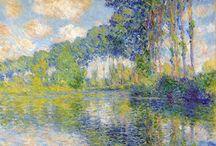 Claude Monet / Claude Oscar Monet (14. listopadu 1840 v Paříži – 5. prosince 1926 v Giverny) byl francouzský impresionistický malíř a grafik.