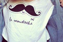 Moustache Trend / De 'Moustache' is helemaal hot! Ik vind het fantastisch :) / by Marjolein de Zwart