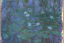 Monet's Waterlilies / A selection of Monet's paintings of waterlilies, available from around the internet. Painting out of doors, a technique he used in order to better capture the fleeting effects of natural light, Monet produced some of the world's best-loved paintings.