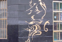 Graffiti de Colombia (c) Kai / lines and angles calm me. by me. / by Kai Livramento