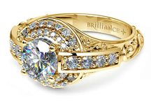 Diamond Rings Best Sellers / Call Us Today! 866.300.4140 / by Brilliance.com