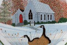 P. Buckley Moss Cross Stitch