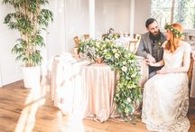 Natural Romanticism Styled Shoot / We were delighted to organise this beautiful shoot at the Old Parish Rooms in Rayleigh with a team of wonderful wedding suppliers! The Natural Romanticism shoot is inspired by a natural wedding theme with lots of green foliage and simple yet ethereal gowns mixed with the sparkle of sequin linen and a bohemian feel.  All images copyright of Love That Smile Photography