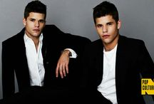 Carver Twins / Max Carver and Charlie Carver Aiden and Ethan