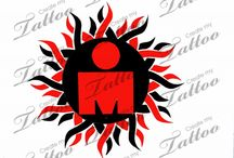 Ironman tattoo design