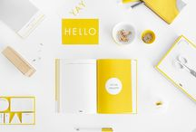 Hello Yellow / Yellow is associated with so many positive things; sunshine, happiness, optimism, inspiration, pleasure… among many others. We were inspired to put a pop of happy colour into our newest stationery collection. When skies are grey outside, we hope that the Hello Yellow Range will brighten up your day.  / by kikki.K