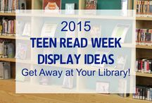Teen Read Week / Want to make a splash for YALSA's Teen Read Week? Look no further than SLJ's TRW Pinterest page, updated by teacher librarian and blogger Kathy Burnette and first curated by blogger, collection development librarian, and guest pinner Molly Wetta. (@mollywetta)