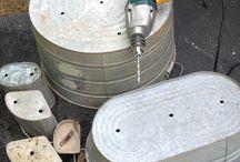 tin~zinc~galvanized~beton