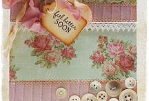 Cards - vintage/shabby shic / by Snazzi Scrappin'