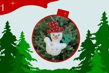 Calendrier de l'avent / Découvrez chaque jour un kit créatif spécial Noël !