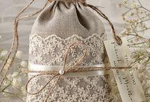 Bolsas para el recuerdo de las bodas