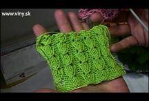 Pletení vzor Slovenka