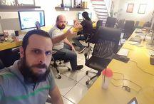 NOZ POR NÓS / Os bastidores do que rola entre uma pauta e outra. Para mais fotinhos: www.instagram.com/agencianoz
