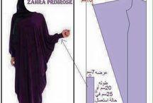 pattern abayas