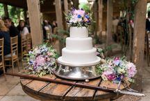 Wedding Cakes at Maunsel House / Delicious wedding cakes which have been displayed at Maunsel House Wedding & Events Venue