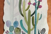 flora / illustrations of foliage