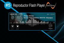 Reproductor Flash Player AACPlus #5 / Reproductor Flash Player AACPlus #5 gratis de SurDataCenter®, para transmisiones de audio en vivo en HE-aacPlus V2 FULL calidad óptima! www.surdatanet.net - www.moqueguahost.com - www.surdatacenter.com