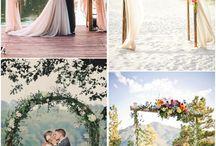 Weddings arch