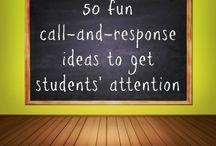 Recommendations for teachers/parents