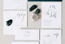 Calligraphy : Stationary / by Hannah Ballyn