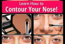Maquillage du nez