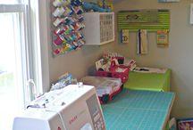 Sewing studios / El meu racó de costura ideal  My ideal sewing room