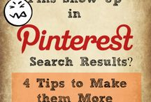 Pinterest Tips / Need help increasing your Pinterest presence, growing your business, sales, and following! Here's the board for ya!