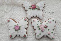 Perníčky-motýl