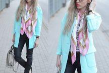 Pastels / pastele / Pastels and women's fashion / Pastele w modzie damskiej.