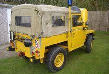 R.A.F land Vehicles
