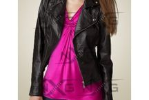 Womens leather Biker Jackets / Women Leather biker jackets are very important for every women how rides bike.with more and more women are having passion for biking, leather biker jacket emerge as a safety question for them.