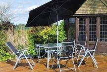 Modern Garden Set Patio Luxury Outdoor Home Decoration 6 Seater Summer Sun Relax