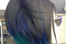 2015 Peacock Color Hair