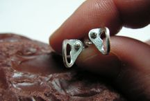 Earrings for rock climbers / Earrings for rock climbers, made in sterling silver