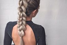 Заплетенные волосы