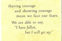 Having courage / By Maya Angelou