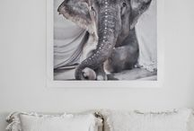 Elephants / cute elephants, elephant motifs, elephant love
