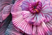 Flowers shibori