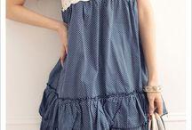 одежда с вязанными вставками