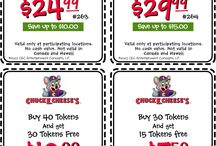 chucky cheese coupons